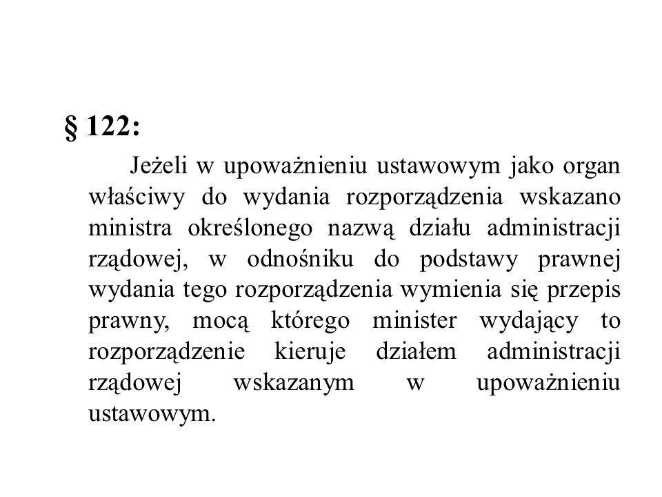 § 122: