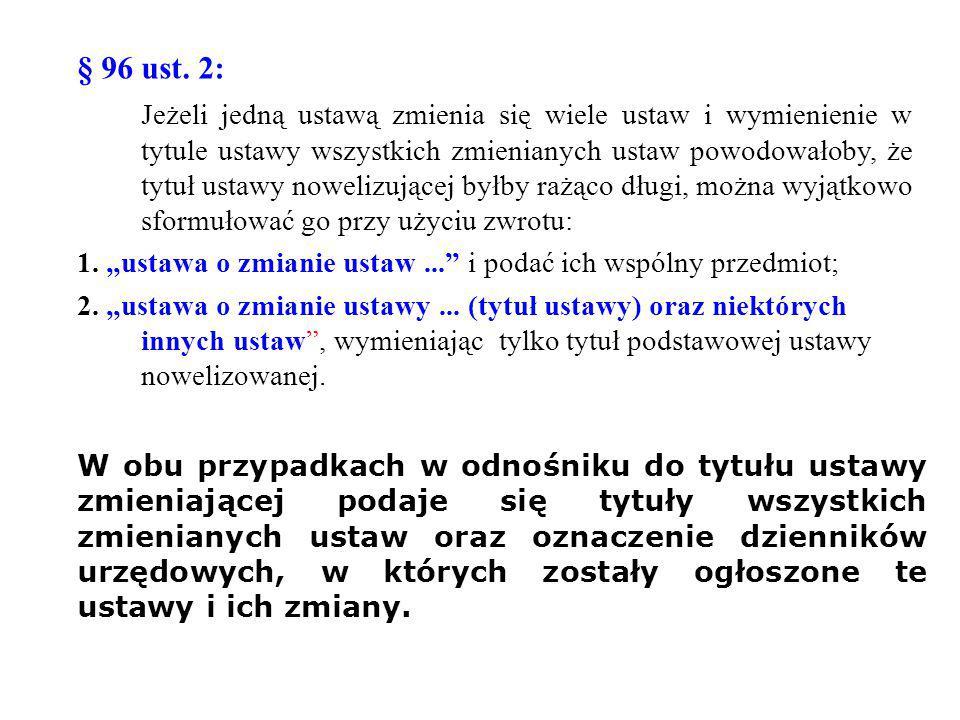 § 96 ust. 2: