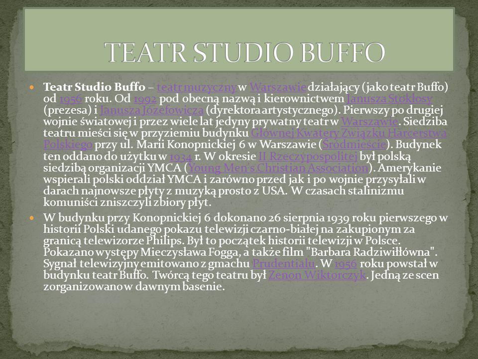 TEATR STUDIO BUFFO