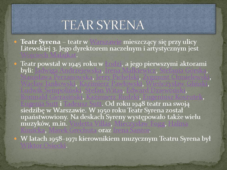TEAR SYRENA