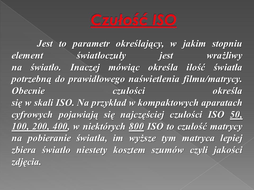 Czułość ISO