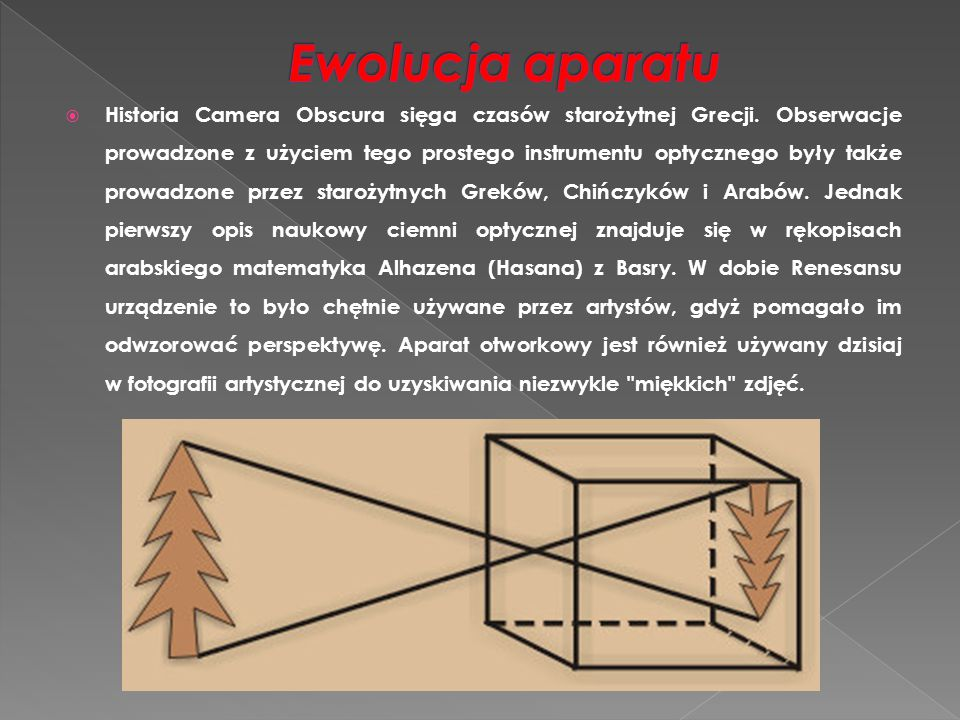 Ewolucja aparatu