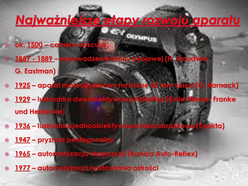 Najważniejsze etapy rozwoju aparatu