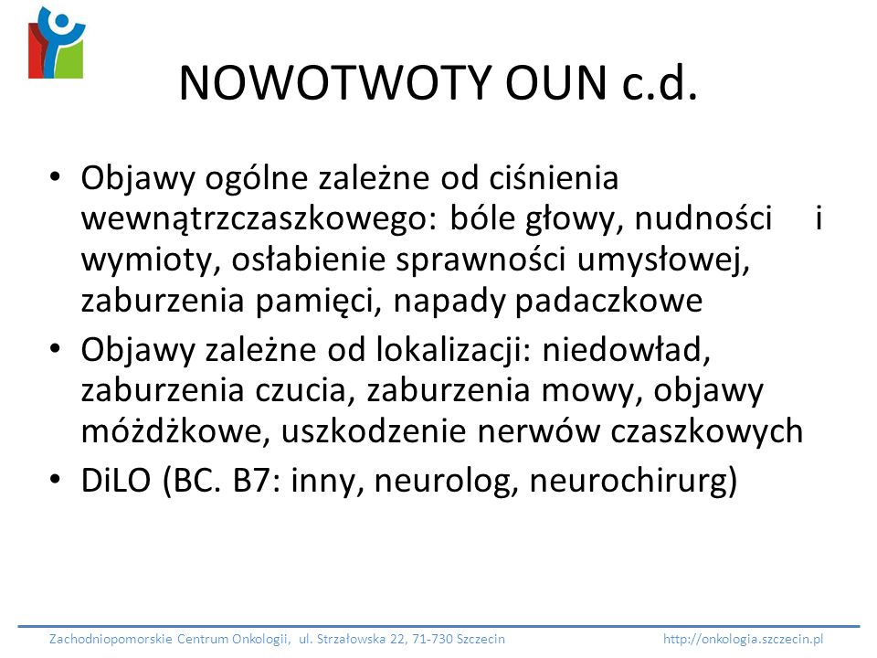 NOWOTWOTY OUN c.d.