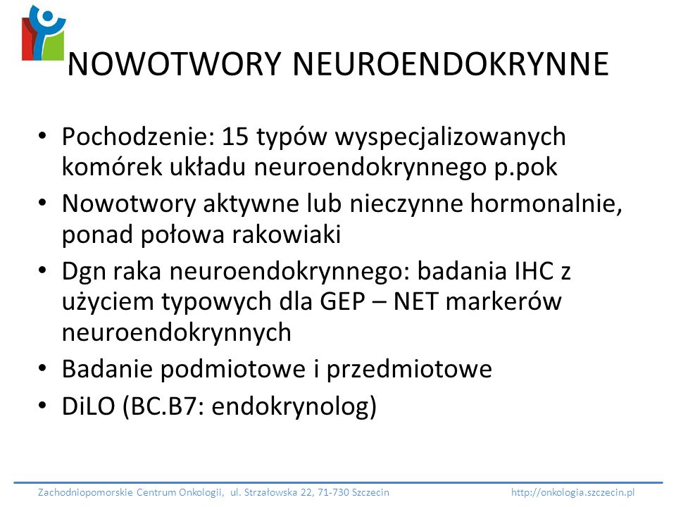 NOWOTWORY NEUROENDOKRYNNE