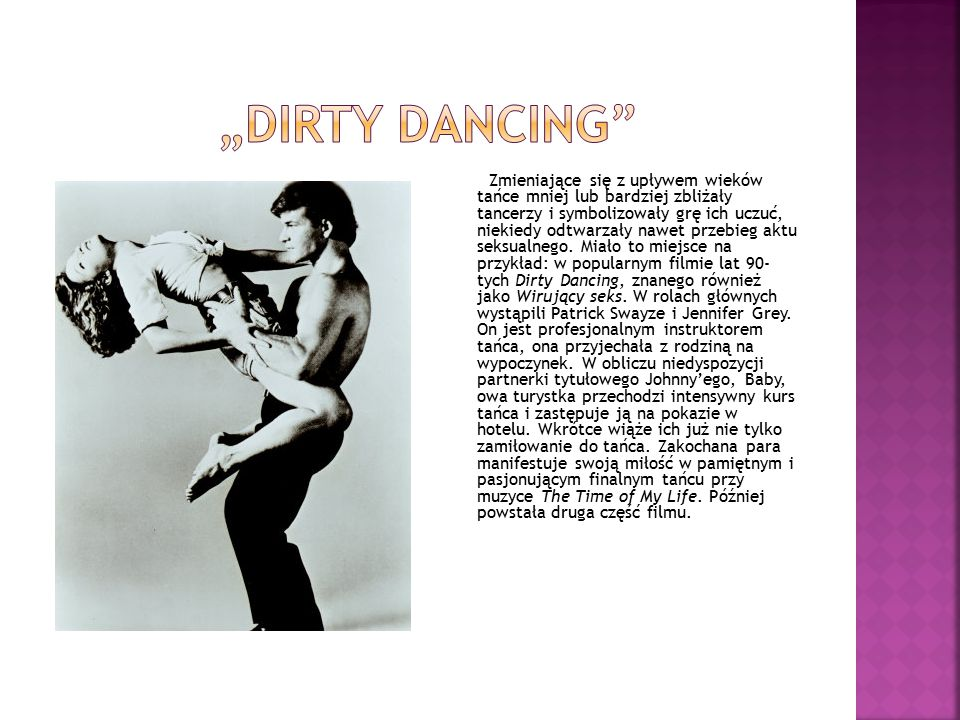 """dirty dancing"