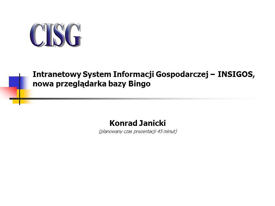 Konrad Janicki (planowany czas prezentacji 45 minut)