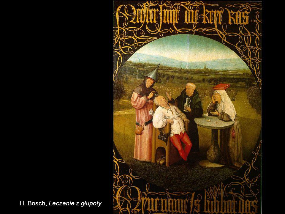 H. Bosch, Leczenie z głupoty