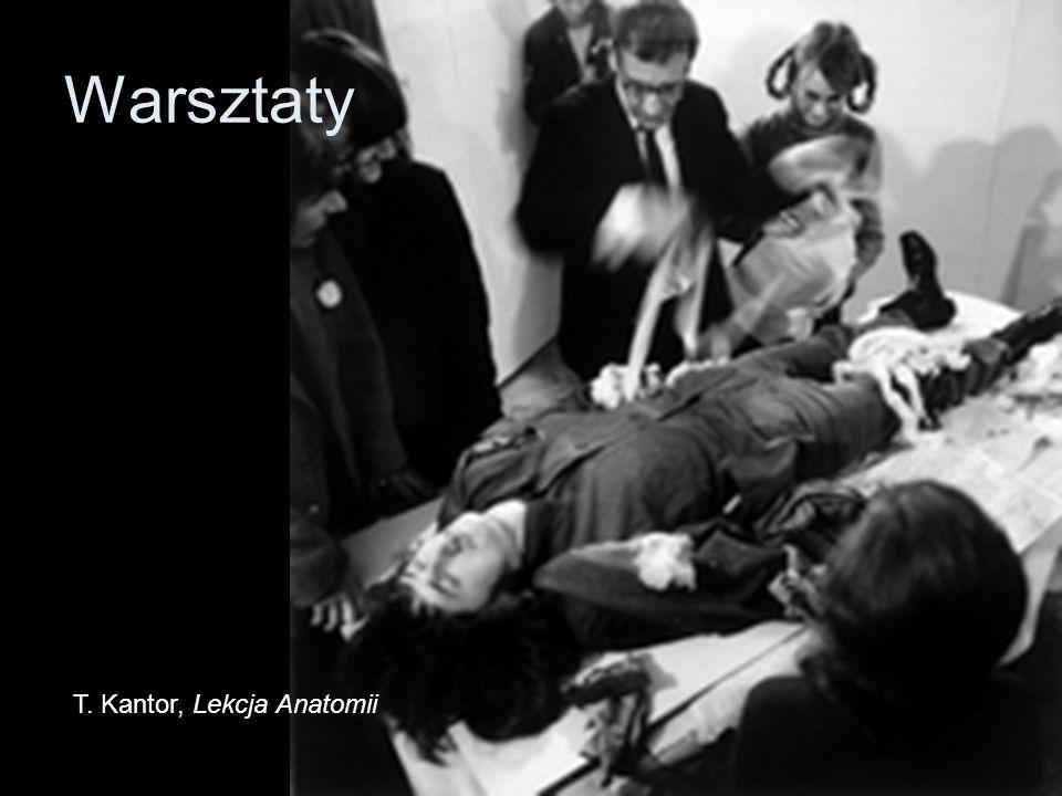 Warsztaty T. Kantor, Lekcja Anatomii