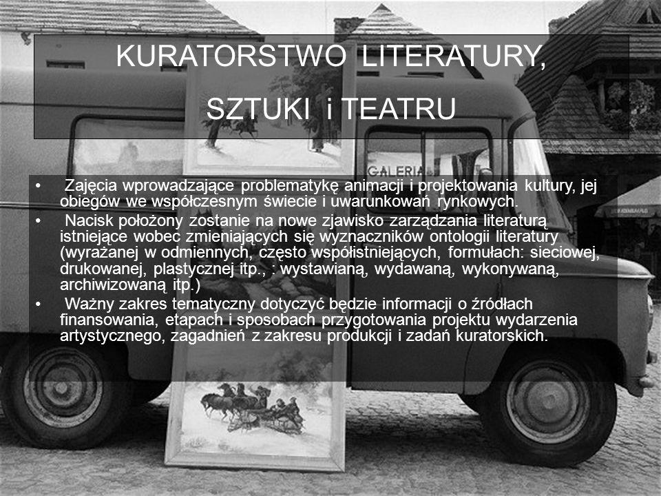 KURATORSTWO LITERATURY,