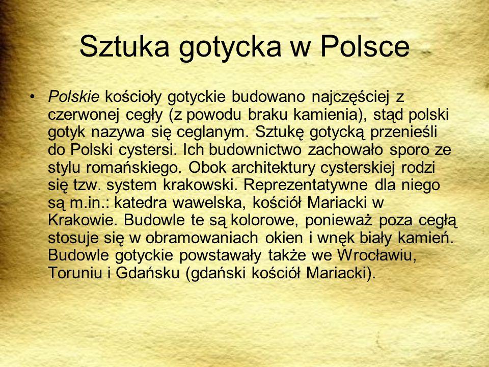 Sztuka gotycka w Polsce
