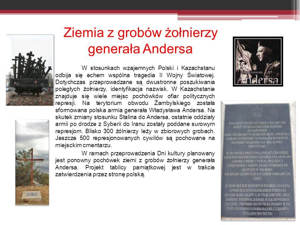 Ziemia z grobów żołnierzy generała Andersa