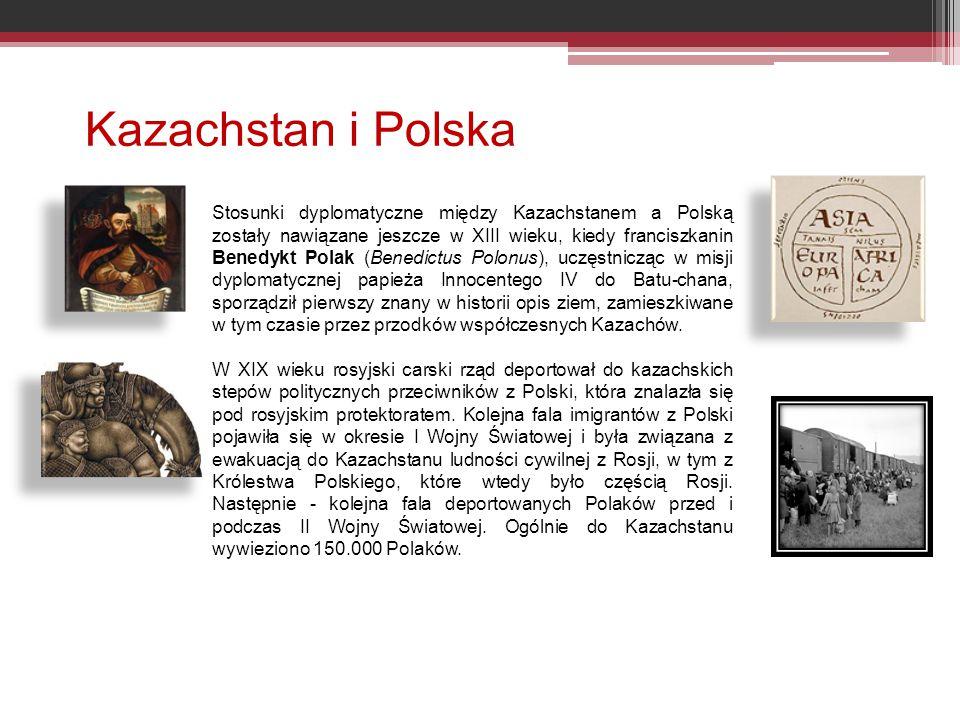 Kazachstan i Polska