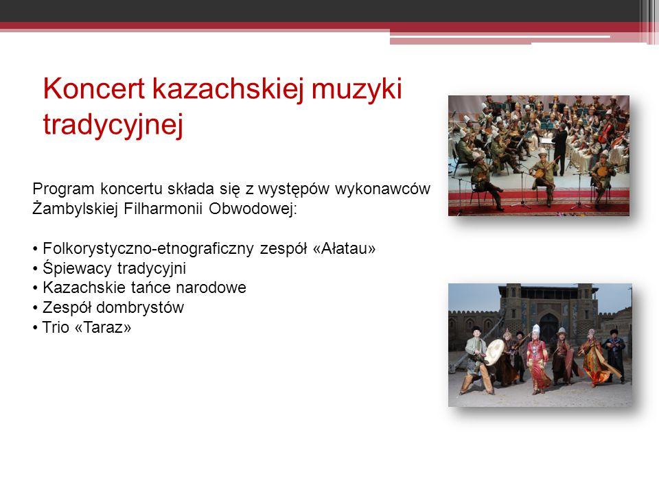 Koncert kazachskiej muzyki tradycyjnej