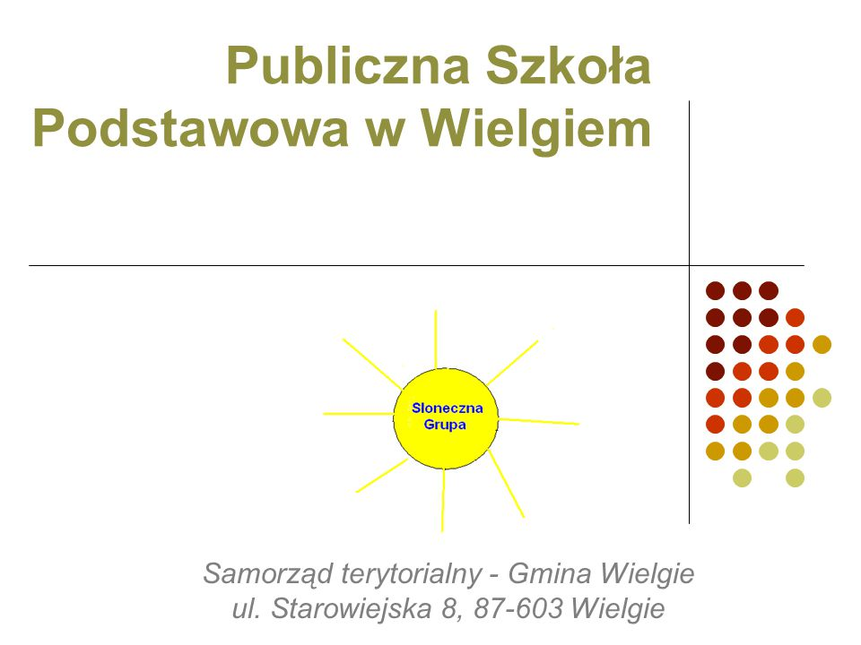 Publiczna Szkoła Podstawowa w Wielgiem
