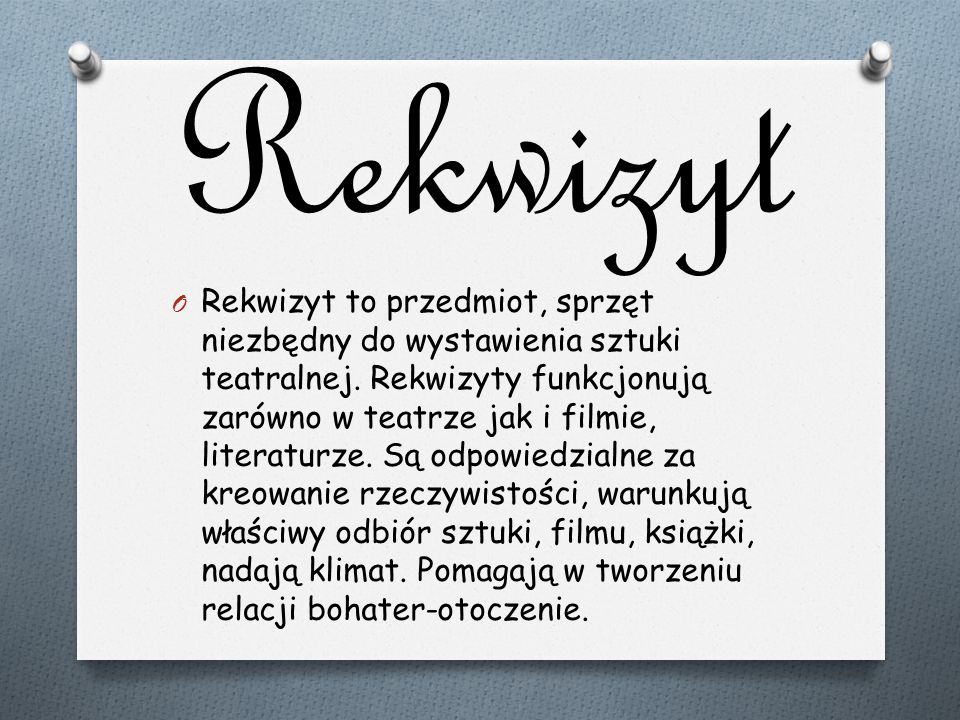 Rekwizyt
