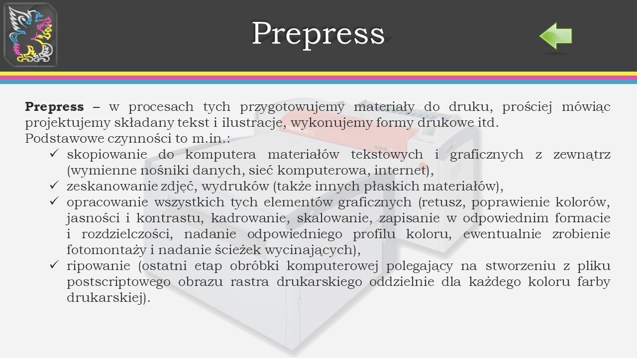 Prepress