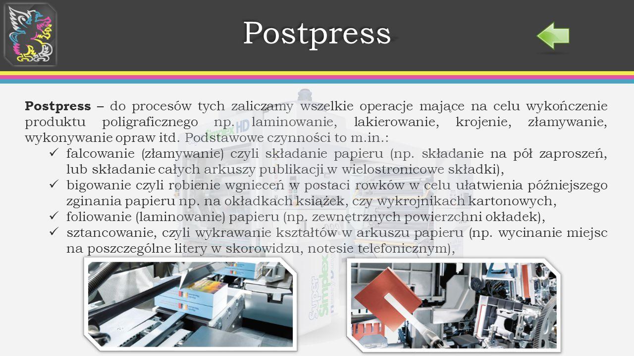 Postpress