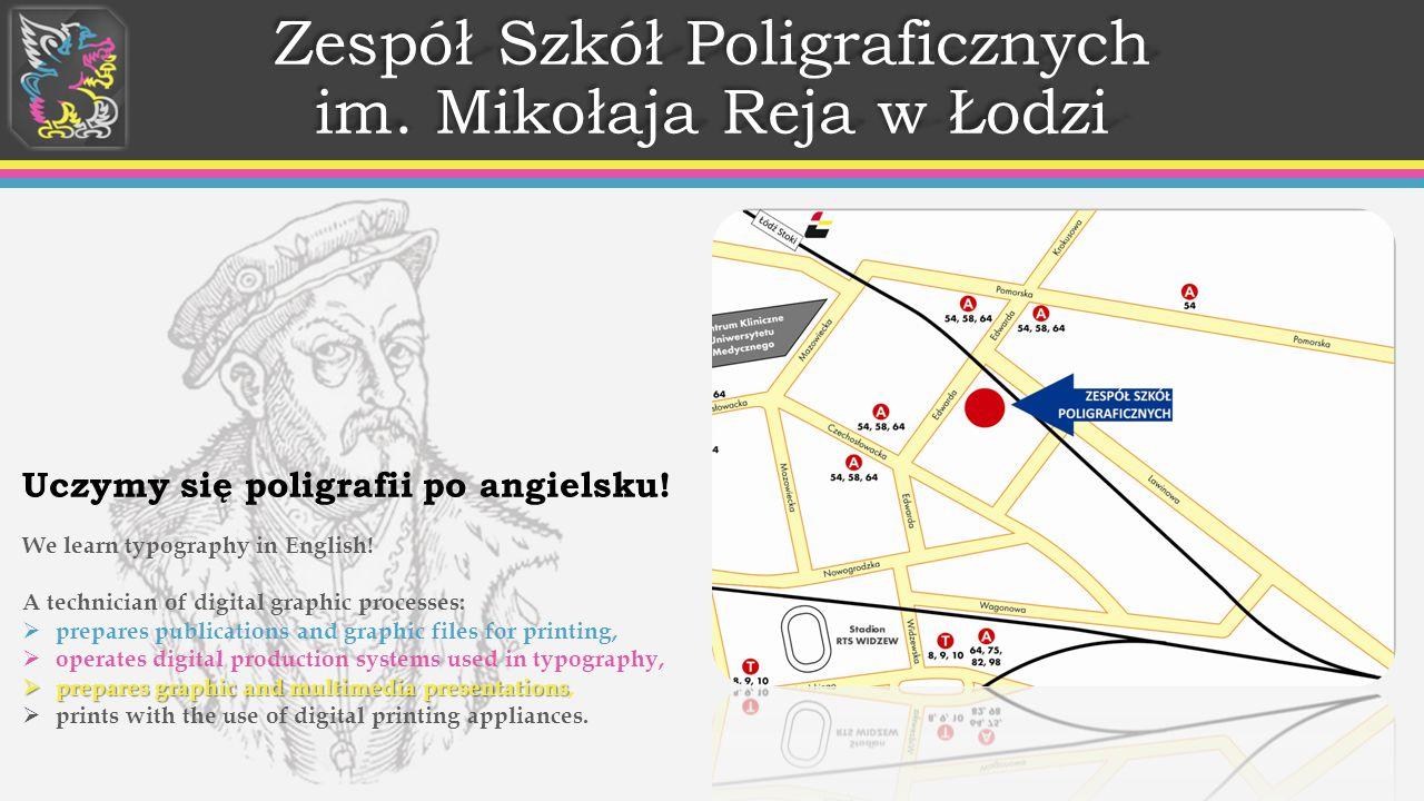 Zespół Szkół Poligraficznych im. Mikołaja Reja w Łodzi