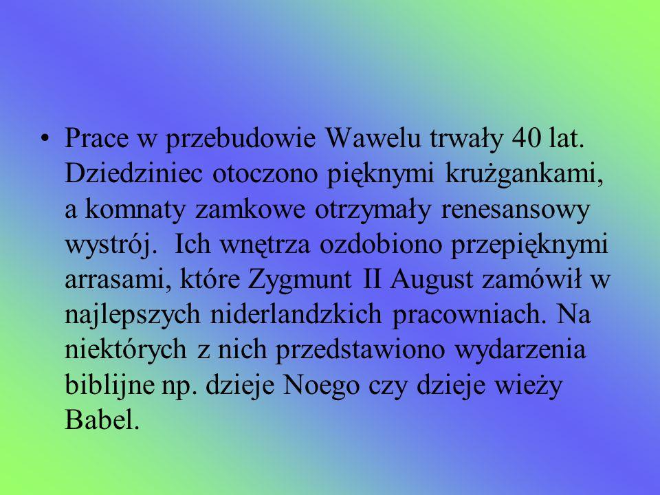 Prace w przebudowie Wawelu trwały 40 lat
