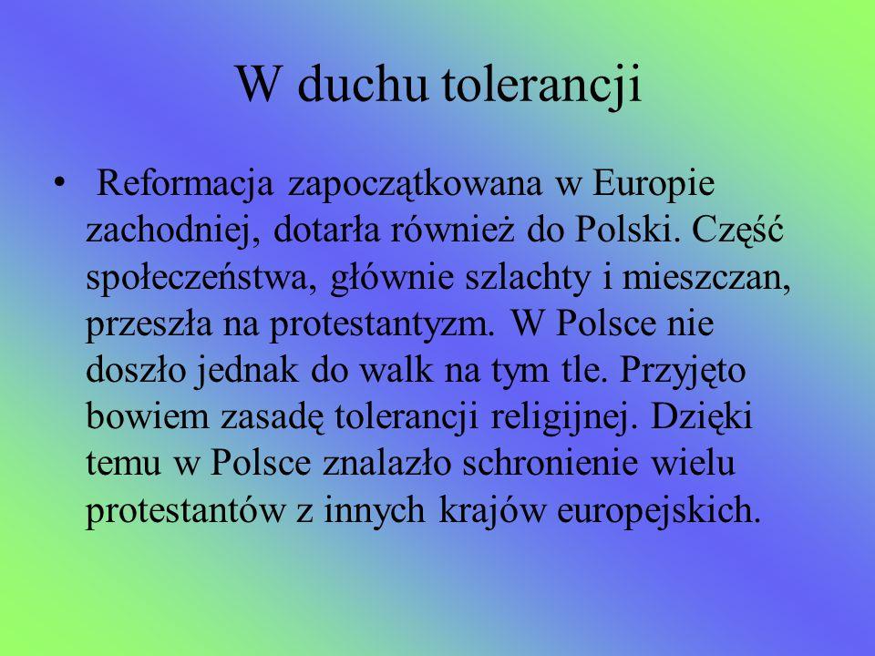 W duchu tolerancji