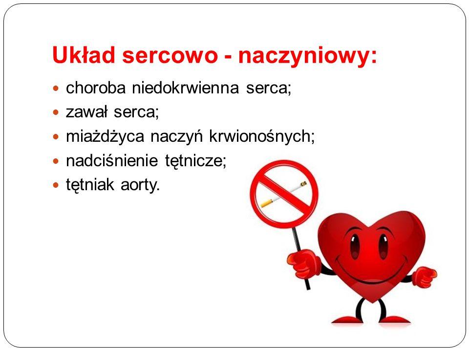 Układ sercowo - naczyniowy: