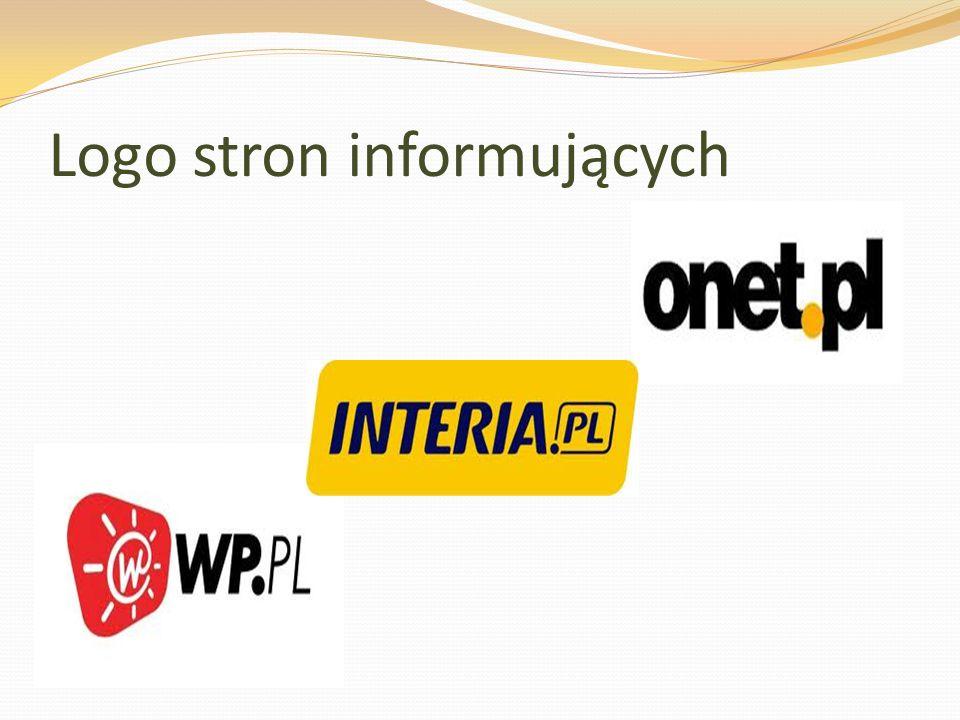 Logo stron informujących