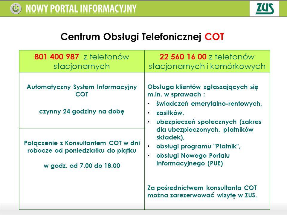 Centrum Obsługi Telefonicznej COT