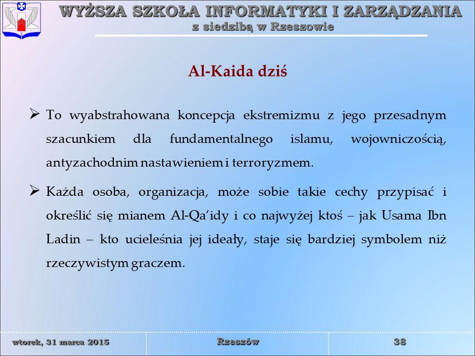Al-Kaida dziś