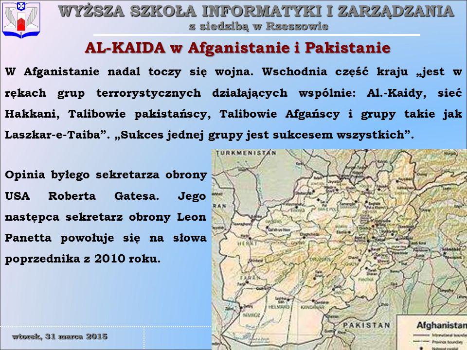 AL-KAIDA w Afganistanie i Pakistanie