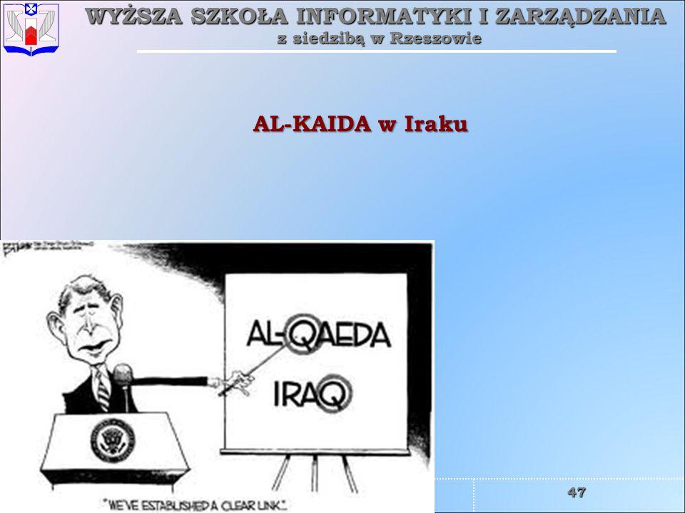 AL-KAIDA w Iraku