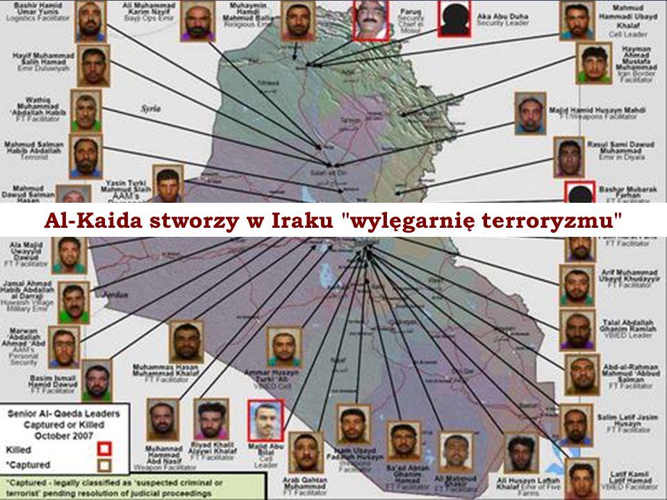 Al-Kaida stworzy w Iraku wylęgarnię terroryzmu