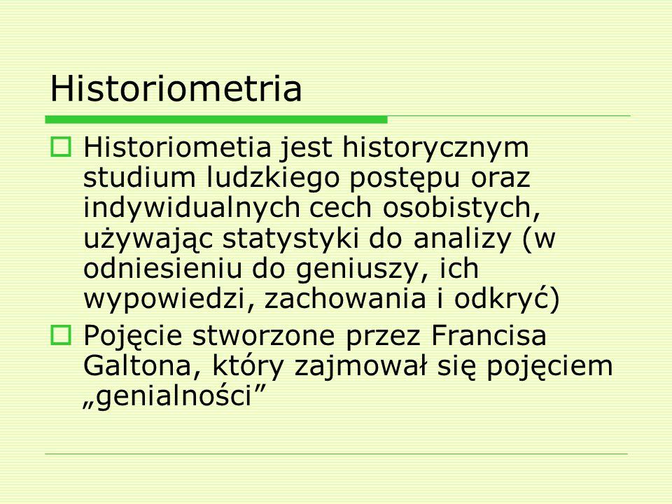 Historiometria