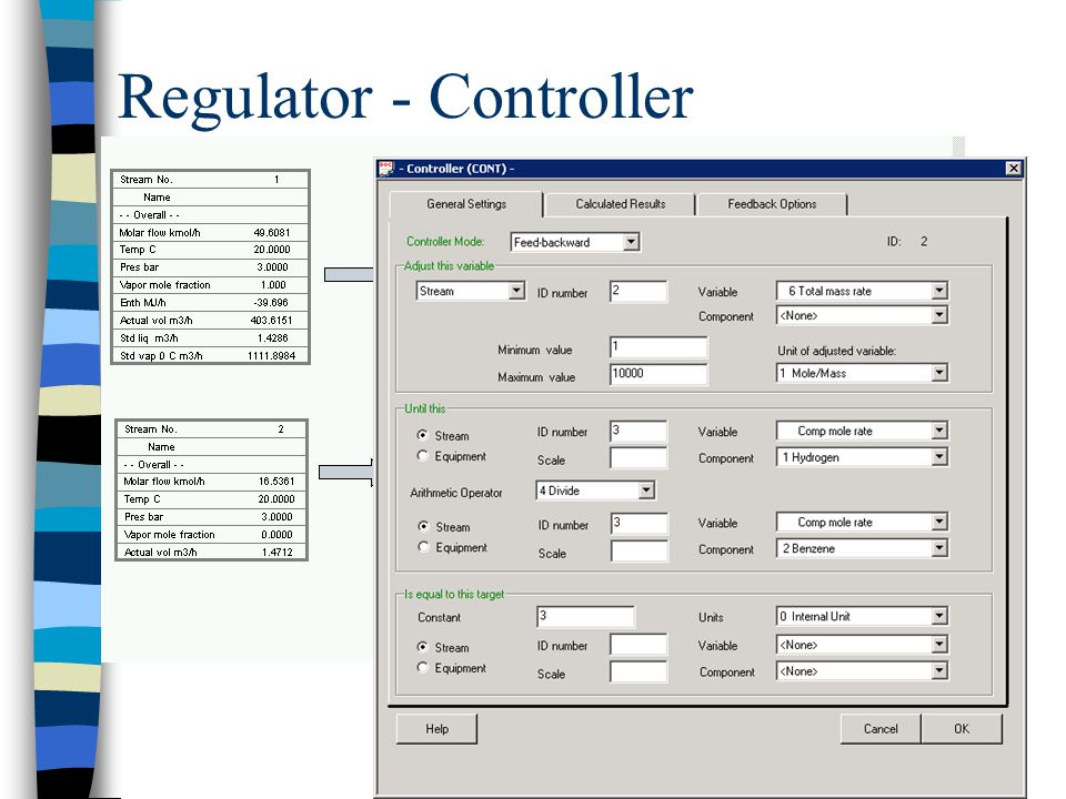 Regulator - Controller