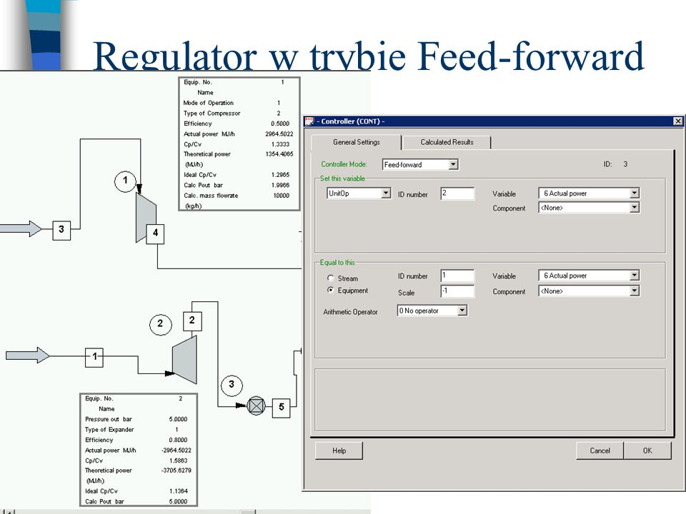 Regulator w trybie Feed-forward