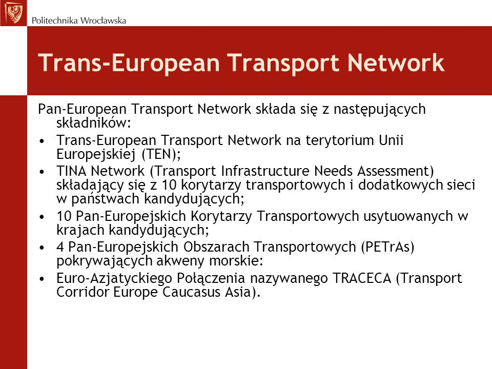 Trans-European Transport Network