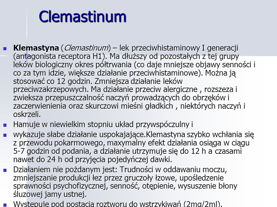 Clemastinum