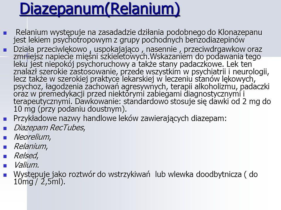Diazepanum(Relanium)