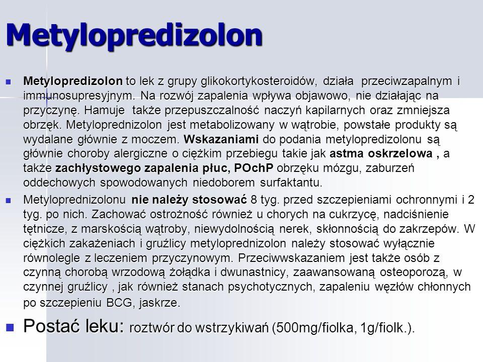Metylopredizolon