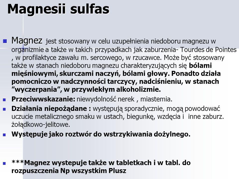 Magnesii sulfas