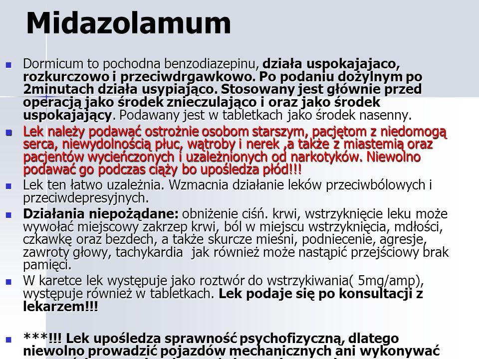 Midazolamum