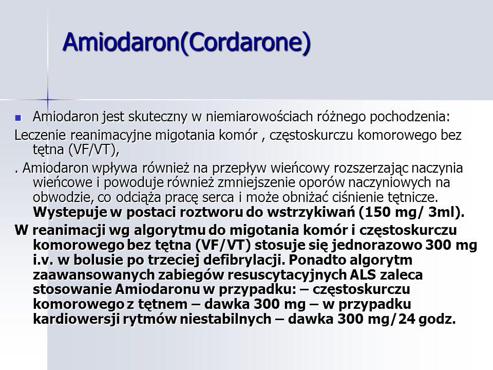 Amiodaron(Cordarone)