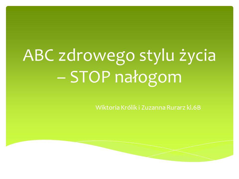 ABC zdrowego stylu życia – STOP nałogom