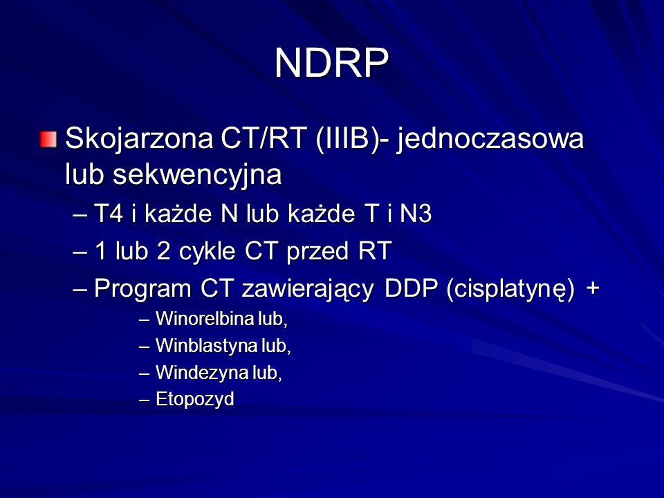 NDRP Skojarzona CT/RT (IIIB)- jednoczasowa lub sekwencyjna