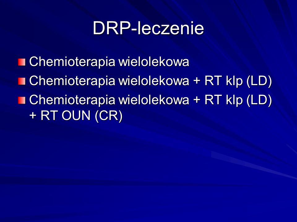 DRP-leczenie Chemioterapia wielolekowa