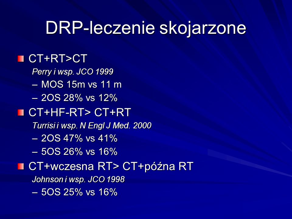 DRP-leczenie skojarzone