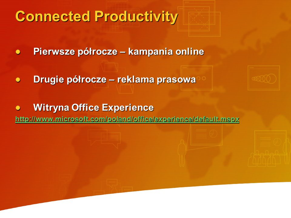 Connected Productivity