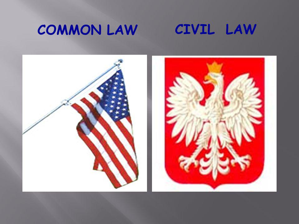 COMMON LAW CIVIL LAW