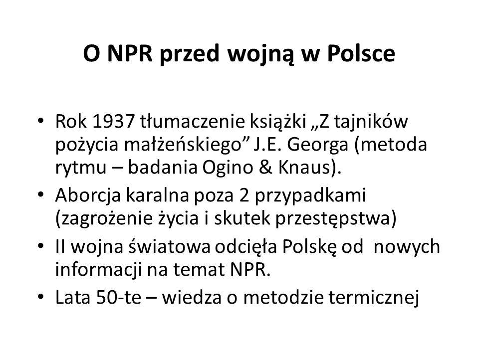 O NPR przed wojną w Polsce
