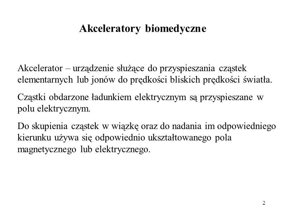 Akceleratory biomedyczne